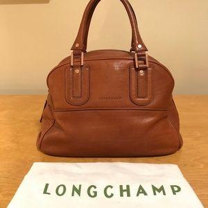longchamp cosmos satchel